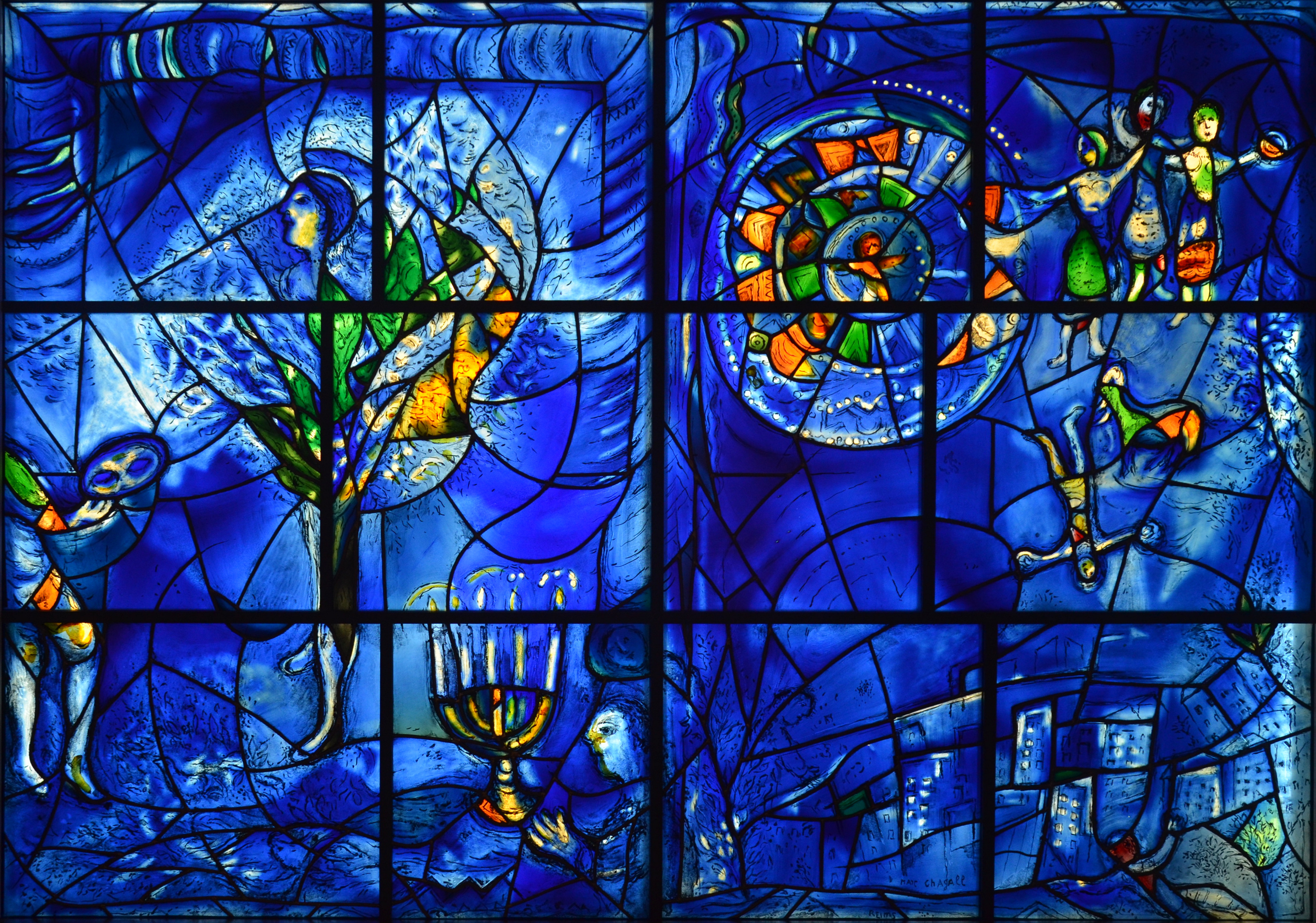 Ten favorite paintings from the art institute of chicago for Chagall mural chicago